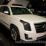 2015 Cadillac Escalade at the 2014 Moscow Motor Show front quarters