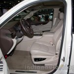 2015 Cadillac Escalade at the 2014 Moscow Motor Show front seat