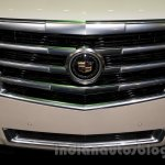 2015 Cadillac Escalade at the 2014 Moscow Motor Show grille