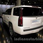 2015 Cadillac Escalade at the 2014 Moscow Motor Show rear quarter