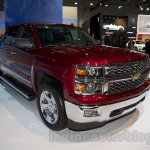 2015 Chevrolet Silverado at the 2014 Moscow Motor Show front quarter