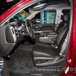 2015 Chevrolet Silverado at the 2014 Moscow Motor Show front seat