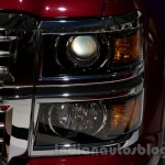 2015 Chevrolet Silverado at the 2014 Moscow Motor Show headlight