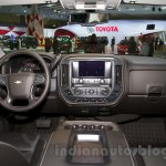 2015 Chevrolet Silverado at the 2014 Moscow Motor Show interior
