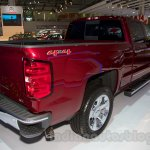 2015 Chevrolet Silverado at the 2014 Moscow Motor Show rear quarter