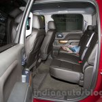 2015 Chevrolet Silverado at the 2014 Moscow Motor Show rear seat