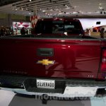 2015 Chevrolet Silverado at the 2014 Moscow Motor Show rear