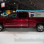2015 Chevrolet Silverado at the 2014 Moscow Motor Show side