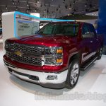 2015 Chevrolet Silverado at the 2014 Moscow Motor Show