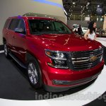 2015 Chevrolet Tahoe at the 2014 Moscow Motor Show front quarter