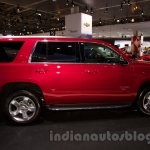 2015 Chevrolet Tahoe at the 2014 Moscow Motor Show profile