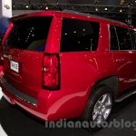 2015 Chevrolet Tahoe at the 2014 Moscow Motor Show rear quarter