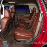 2015 Chevrolet Tahoe at the 2014 Moscow Motor Show rear seat