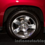 2015 Chevrolet Tahoe at the 2014 Moscow Motor Show wheel