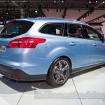 2015 Ford Focus Estate at the 2014 Moscow Motor Show rear quarter