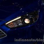 2015 Ford Focus at the 2014 Moscow Motor Show headlight