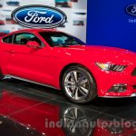 2015 Ford Mustang at the 2014 Moscow Motor Show front quarter