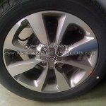2015 Hyundai Elite i20 spotted wheel
