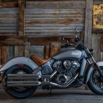 2015 Indian Scout Silver Smoke
