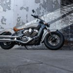 2015 Indian Scout Silver Smoke profile