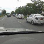 2015 Mazda2 Sedan spied in Thailand rear