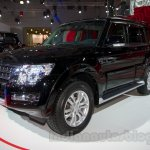 2015 Mitsubishi Pajero Facelift at the 2014 Moscow Motor Show front quarter