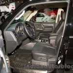 2015 Mitsubishi Pajero Facelift at the 2014 Moscow Motor Show front seat
