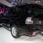 2015 Mitsubishi Pajero Facelift at the 2014 Moscow Motor Show rear quarters