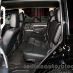 2015 Mitsubishi Pajero Facelift at the 2014 Moscow Motor Show rear seat