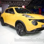 2015 Nissan Juke at the 2014 Moscow Motor Show front quarters