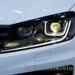 2015 VW Touareg facelift at the 2014 Moscow Motor Show headlight