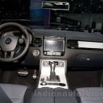 2015 VW Touareg facelift at the 2014 Moscow Motor Show interior