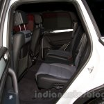 2015 VW Touareg facelift at the 2014 Moscow Motor Show rear seat