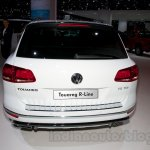 2015 VW Touareg facelift at the 2014 Moscow Motor Show rear
