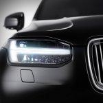 2015 Volvo XC90 Teaser Thor's Hammer LED daytime lights