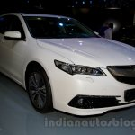 Acura TLX front right three quarter at the 2014 Moscow Motor Show