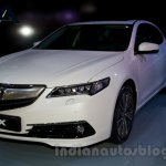 Acura TLX front three quarter at the 2014 Moscow Motor Show
