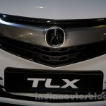 Acura TLX grille at the 2014 Moscow Motor Show