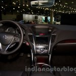 Acura TLX interior at the 2014 Moscow Motor Show