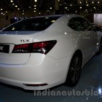 Acura TLX rear three quarter right at the 2014 Moscow Motor Show