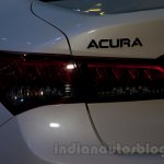 Acura TLX taillight at the 2014 Moscow Motor Show