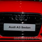 Audi A3 Sedan launch image grille