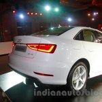 Audi A3 Sedan launch image rear quarter