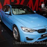 BMW M3 Sedan at the 2014 Moscow Motor Show front quarter