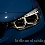 BMW M3 Sedan at the 2014 Moscow Motor Show headlight