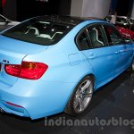 BMW M3 Sedan at the 2014 Moscow Motor Show rear quarter