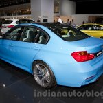 BMW M3 Sedan at the 2014 Moscow Motor Show rear quarters