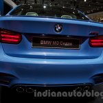 BMW M3 Sedan at the 2014 Moscow Motor Show rear