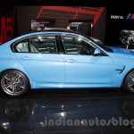 BMW M3 Sedan at the 2014 Moscow Motor Show side