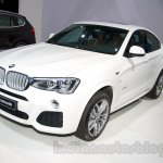 BMW X4 at the 2014 Moscow Motor Show front quarter